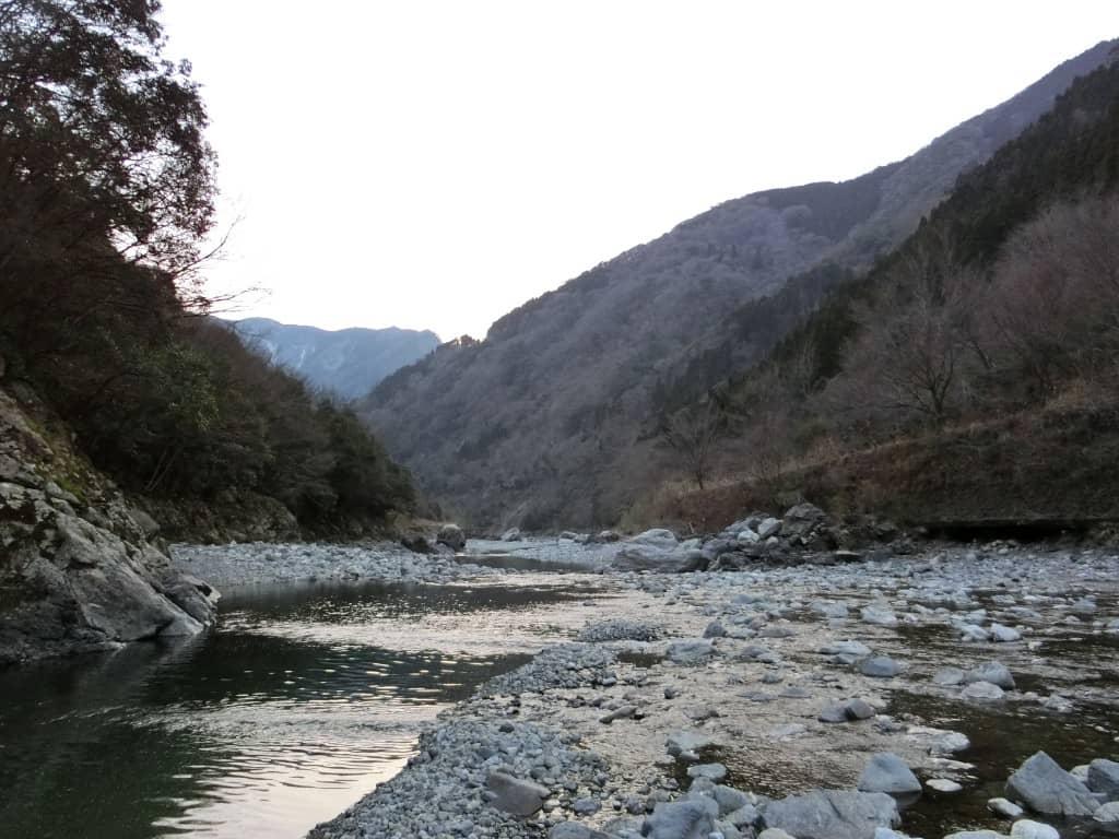 球磨川支流川辺川五木辺り