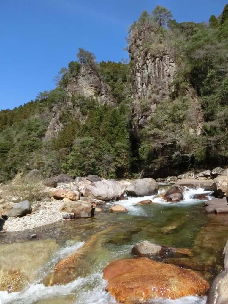五ヶ瀬川支流の日之影川ヤマメ(エノハ)