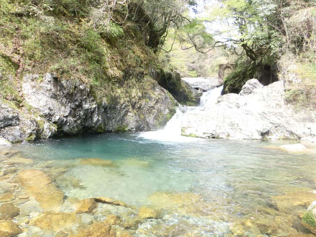 錦川の木谷川(木谷峡谷)2016