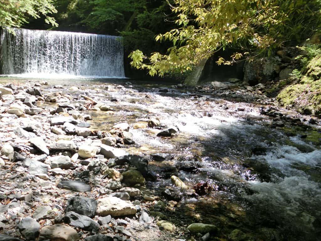 滋賀県愛知川渓流釣り茶屋川