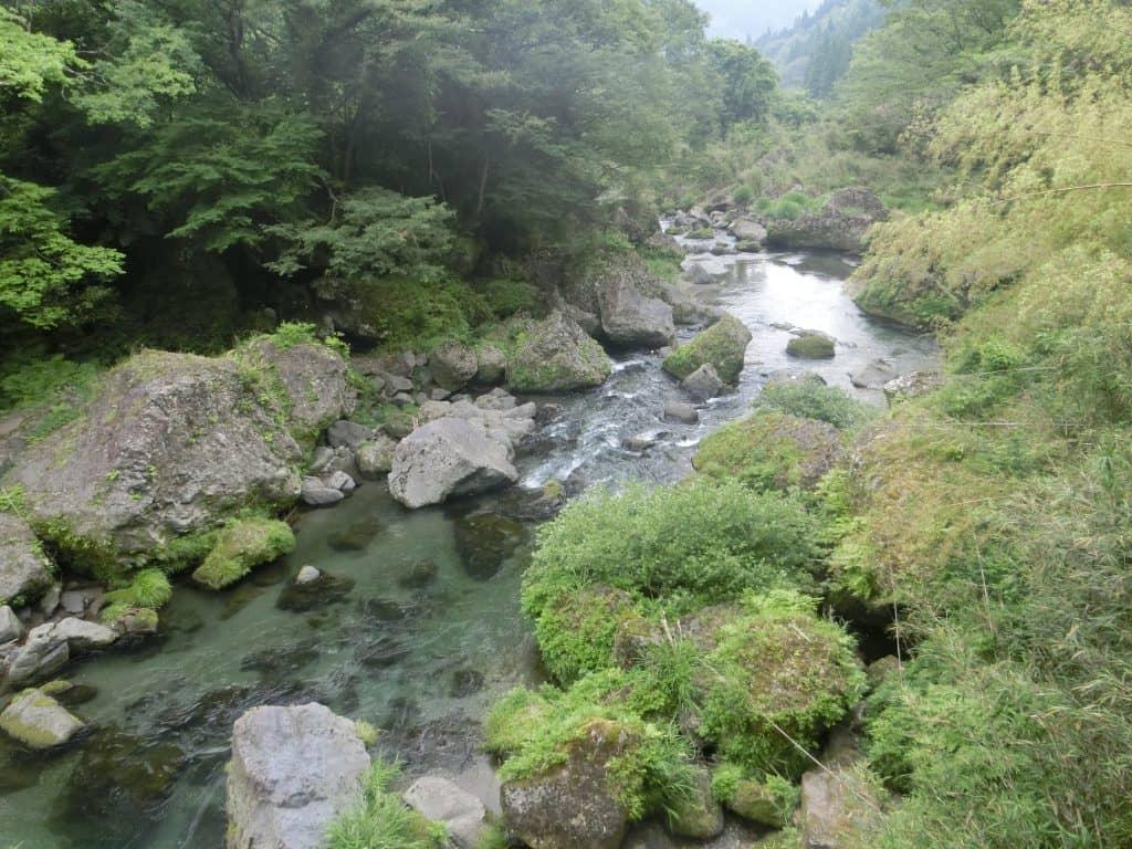 五ヶ瀬川蘇陽峡ルアーヤマメ釣り