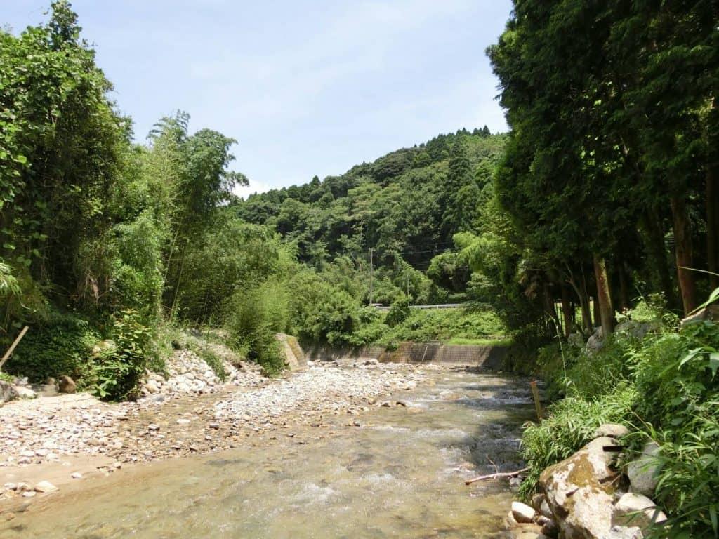 福岡佐賀県境嘉瀬川上流