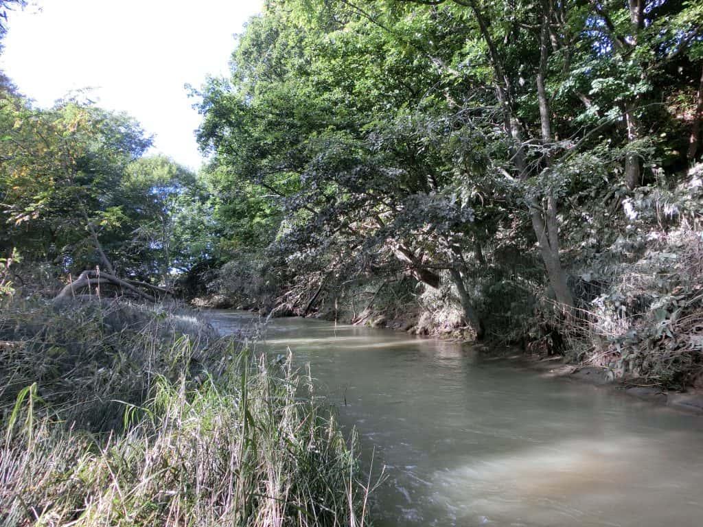 石狩川支流内大部川
