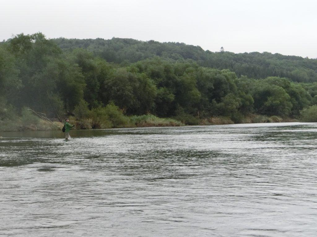 ペペケナイ川天塩川合流点