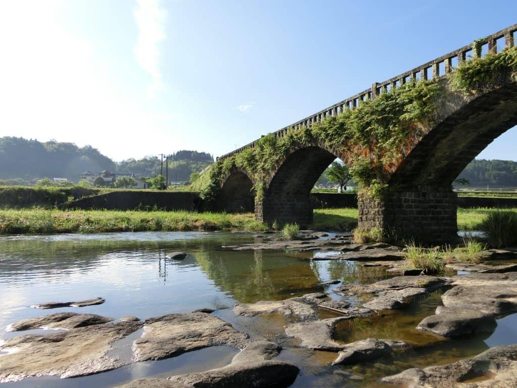 緒方川水系十角川眼鏡橋渓流釣り