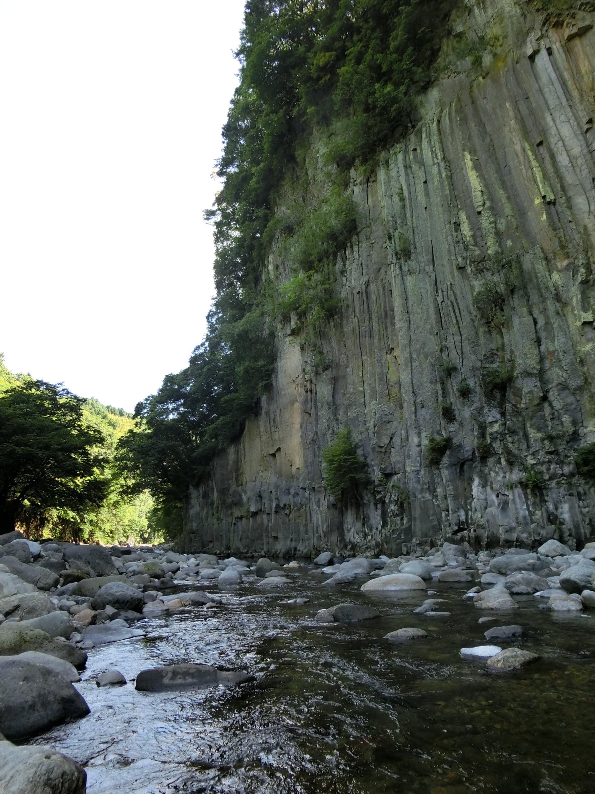 奥岳川滞迫峡ヤマメ渓流釣り