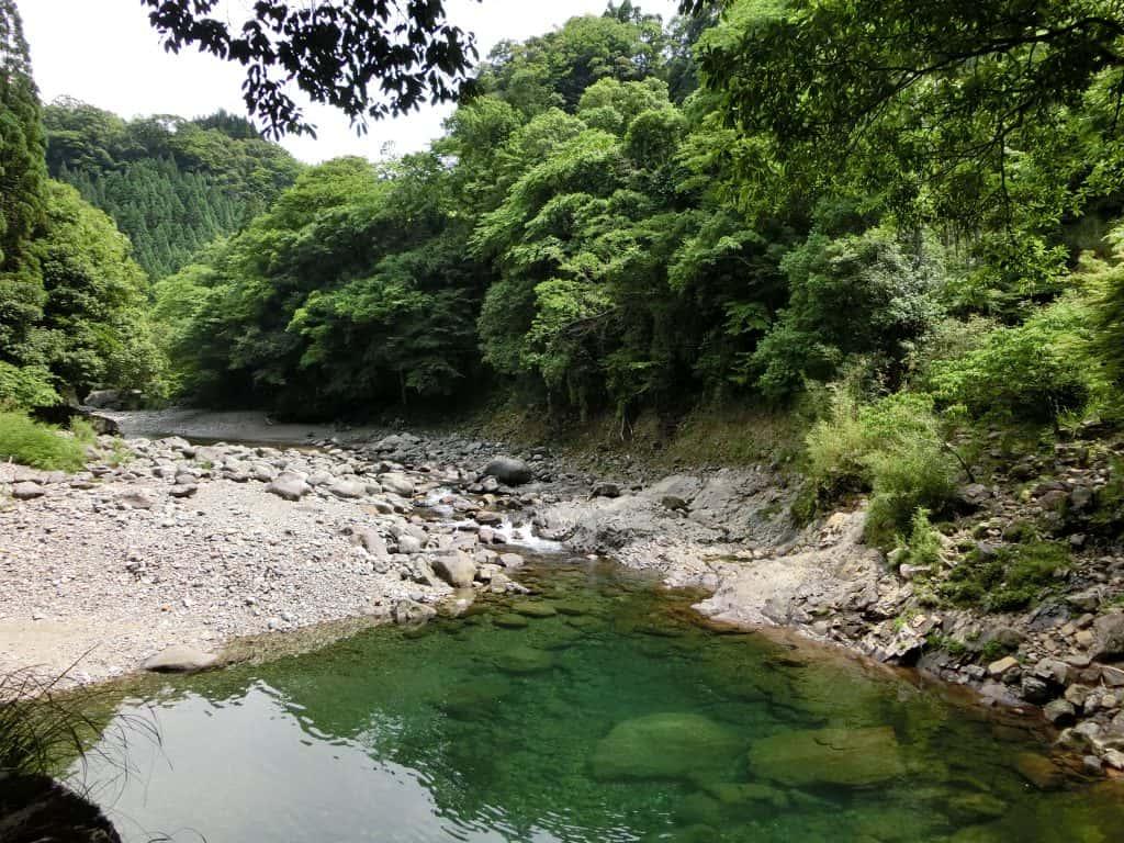 奥岳川滞迫峡ヤマメアマゴ渓流釣り