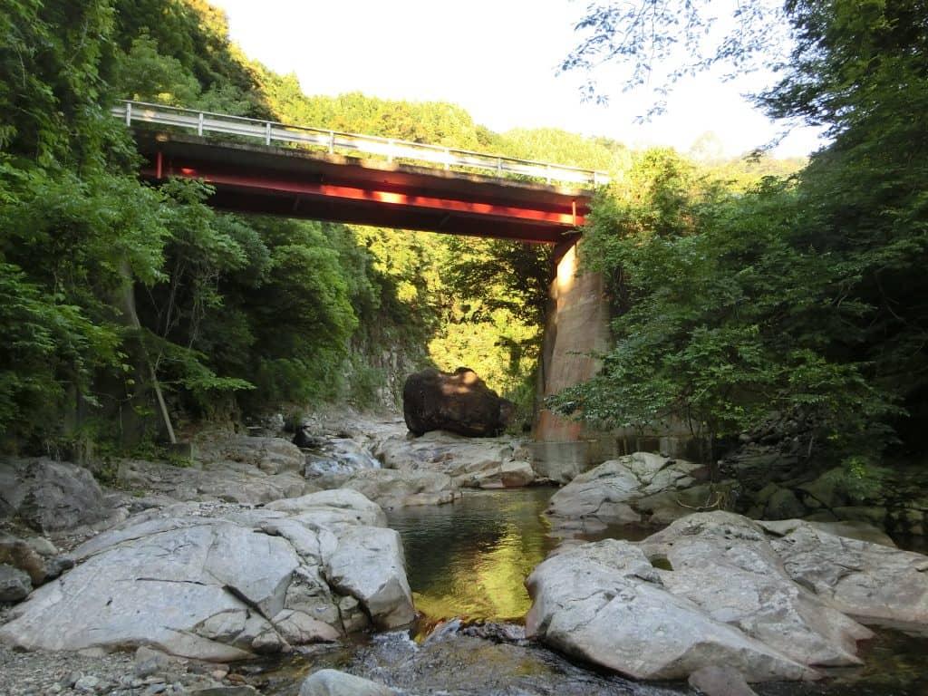 奥岳川九折川ヤマメアマゴ渓流釣り
