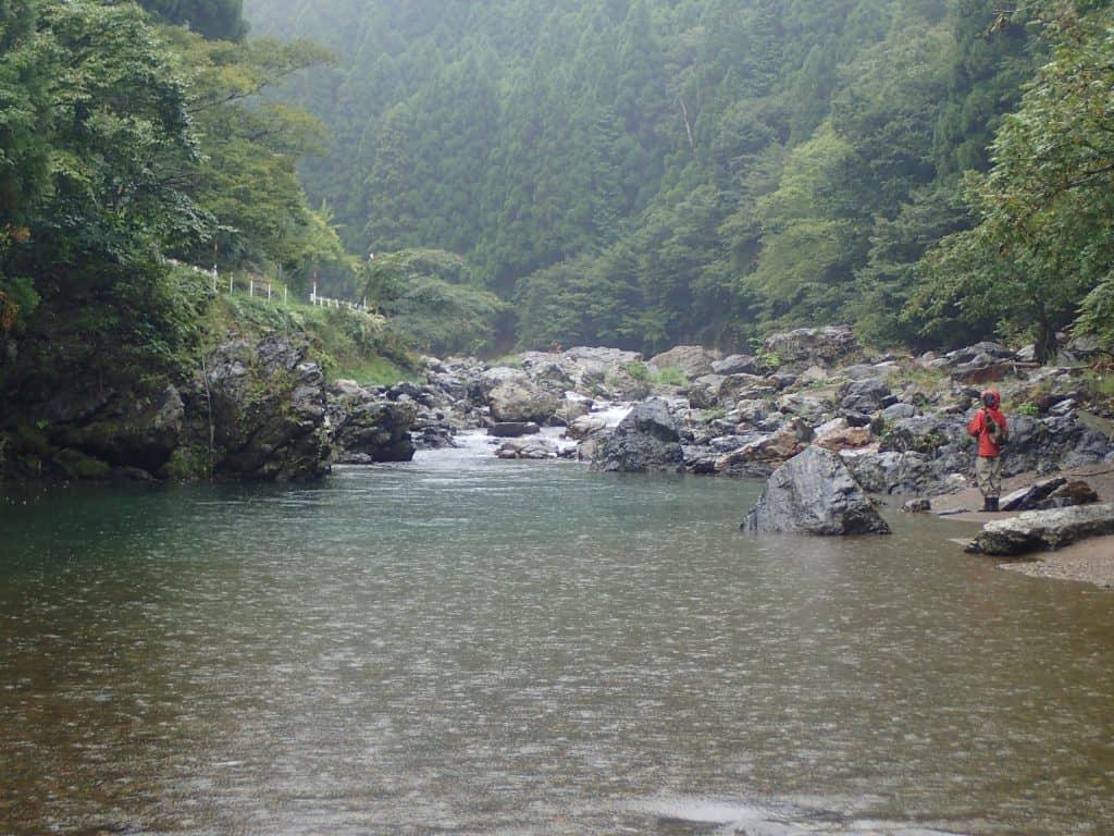 葛川久多川アマゴ釣り