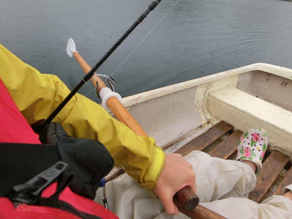 然別湖トローリング釣り