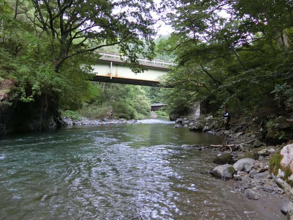 木曽川渓流釣り