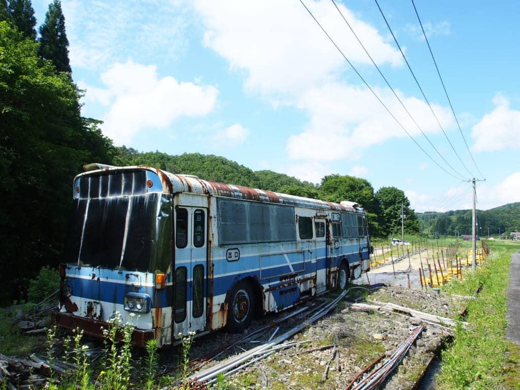 吉井川の廃車