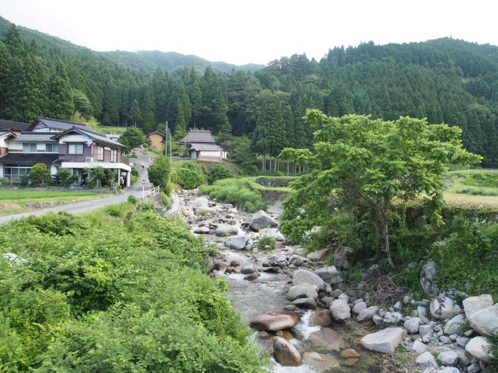 岡山県吉野川アマゴイワナ釣り