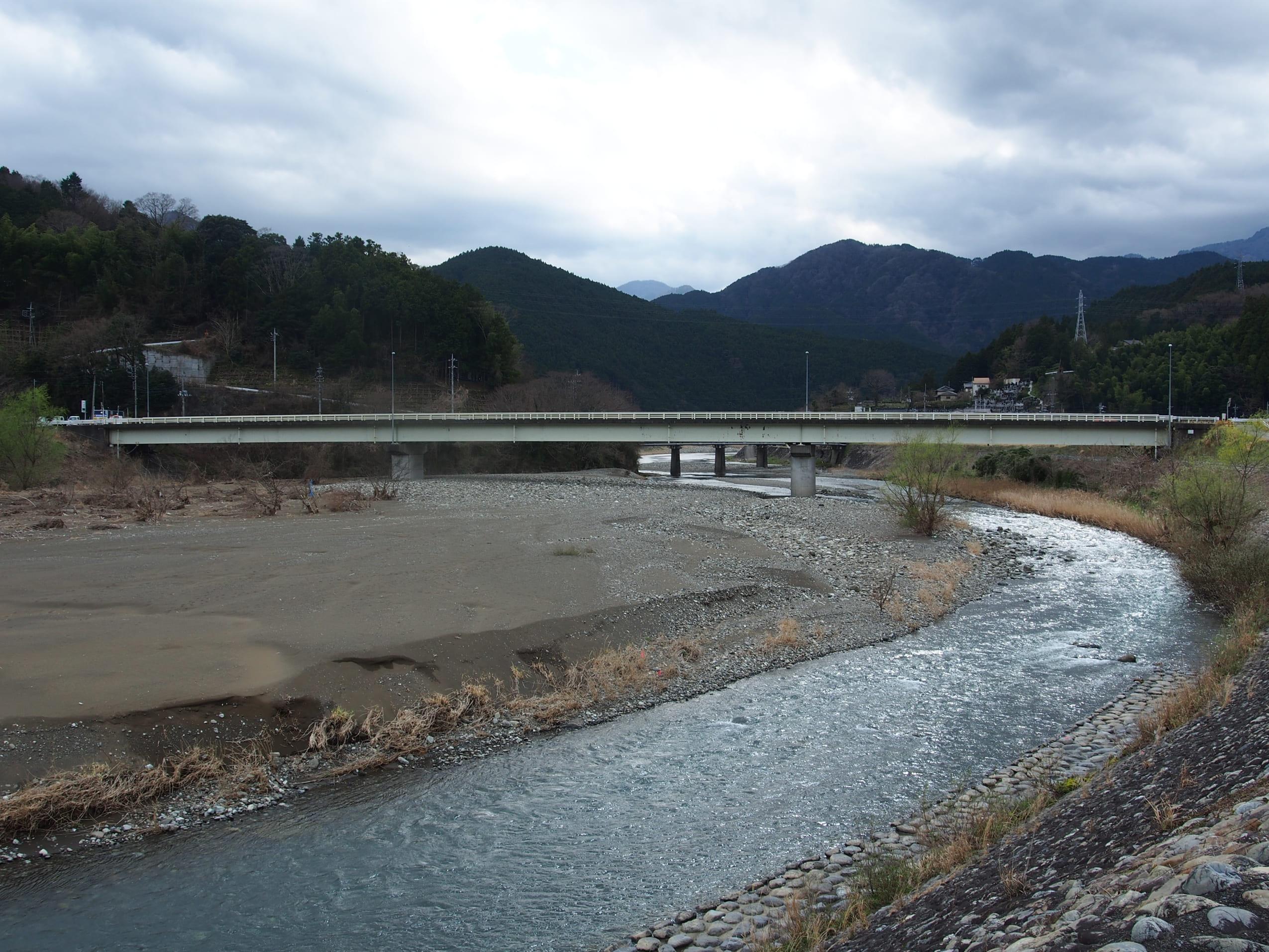 福士川アマゴ渓流釣り