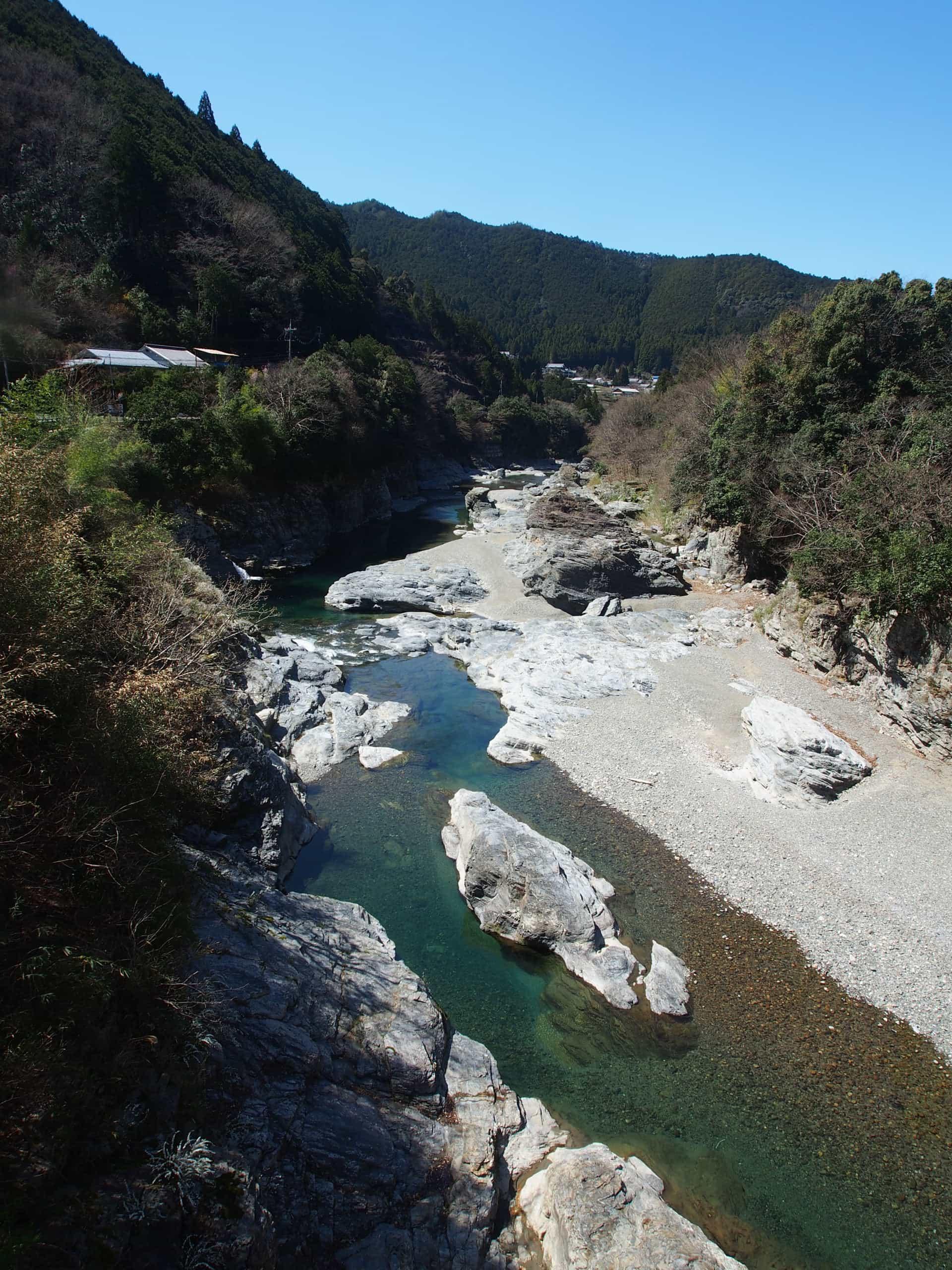 吉野川本流の眺め