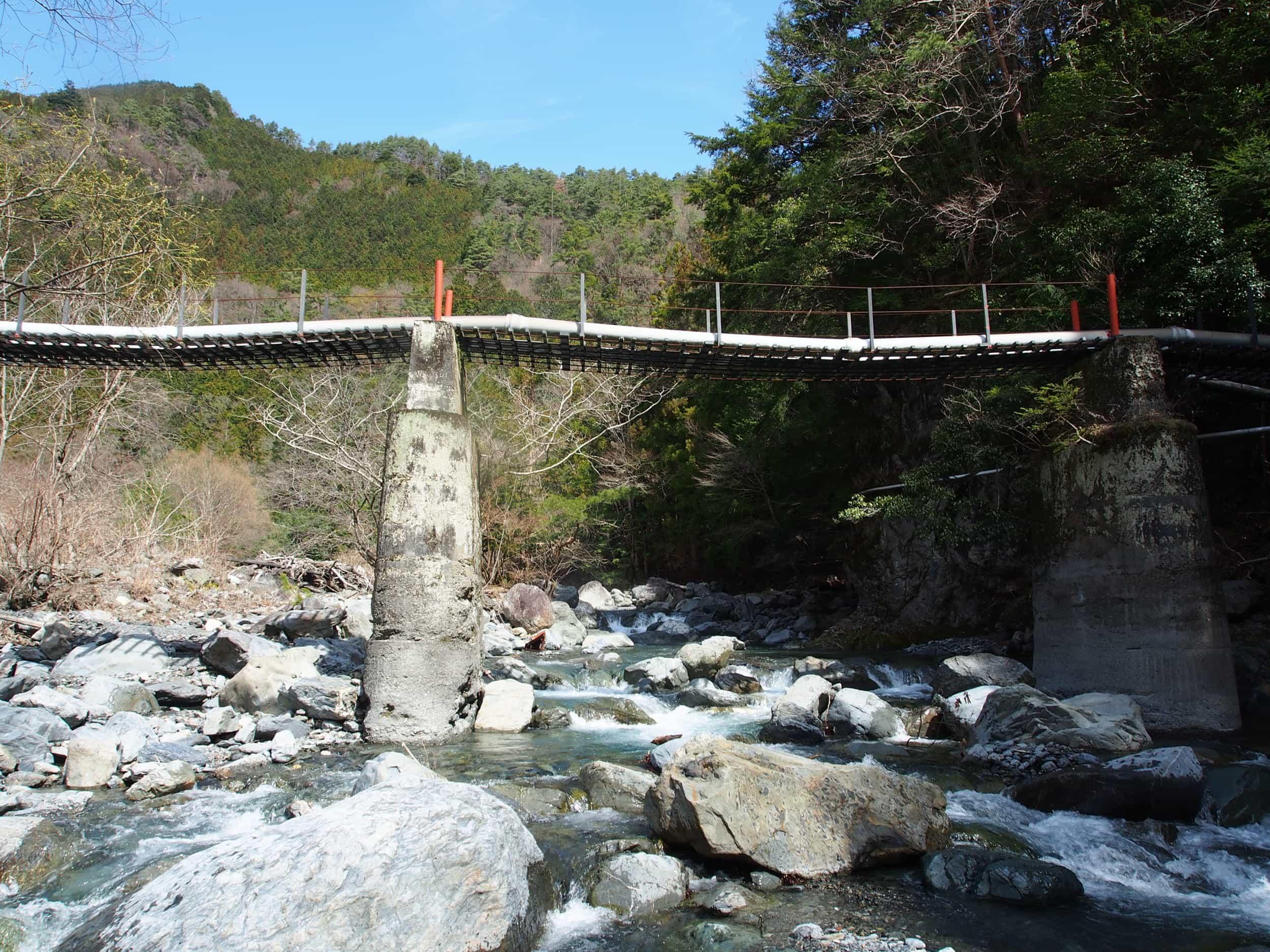 早川保川渓流釣りポイント