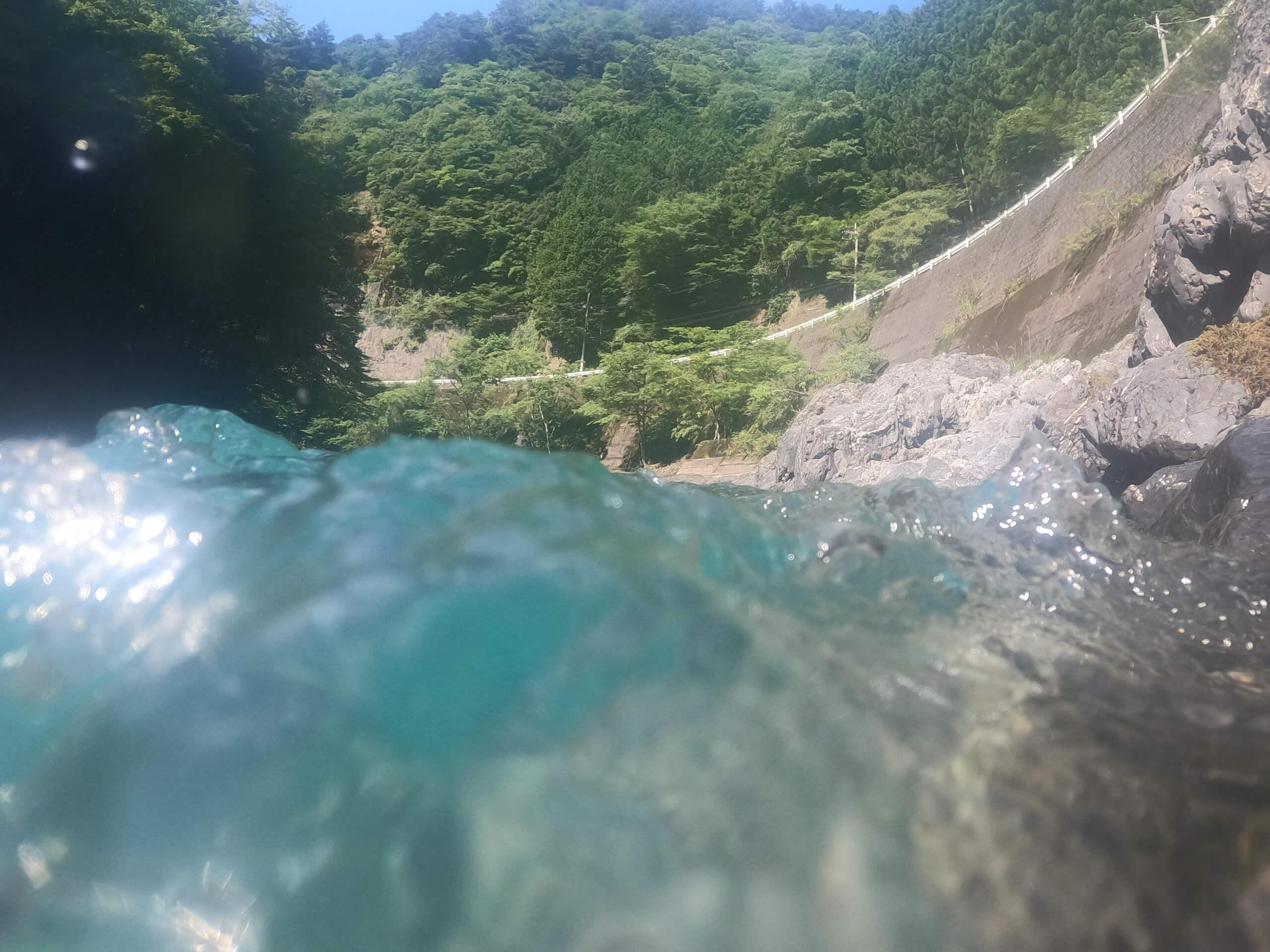 龍神温泉アマゴ渓流釣り